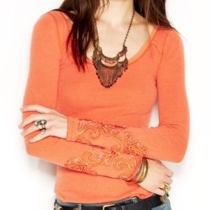 Free People long sleeve masquerade thermal